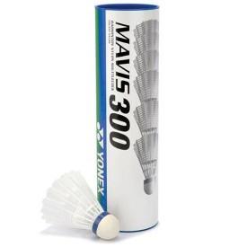 Volants Plastique Mavis-300 Blanc Yonex