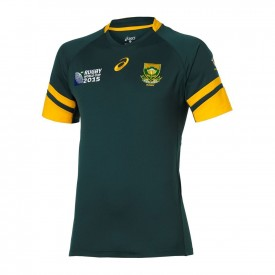 Maillot Equipe d'Afrique du Sud Rugby domicile RWC 2015 - Asics 123328SR