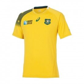 Maillot Equipe d'Australie Rugby domicile RWC 2015
