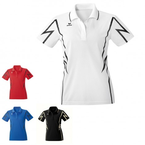 Polo performance Racing Femme