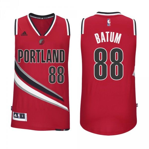 Blazers Basketball Reference: Maillot Adidas NBA Swingman Portland Blazers Nicolas Batum