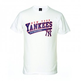 Tee shirt Woolsey Yankees - Majestic Athletic A1YAN0194WHT001