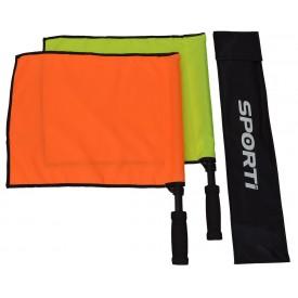 Paire de drapeau de touche uni - Sporti 063126