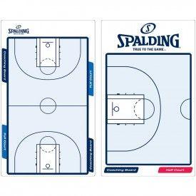 Plaquette coach avec marqueur TACTIC Spalding