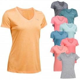 Tee-shirt Tech Twist MC Femme - Under Armour 1258568