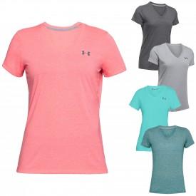 Tee shirt Twist Threadborne Femme - Under Armour 1289650