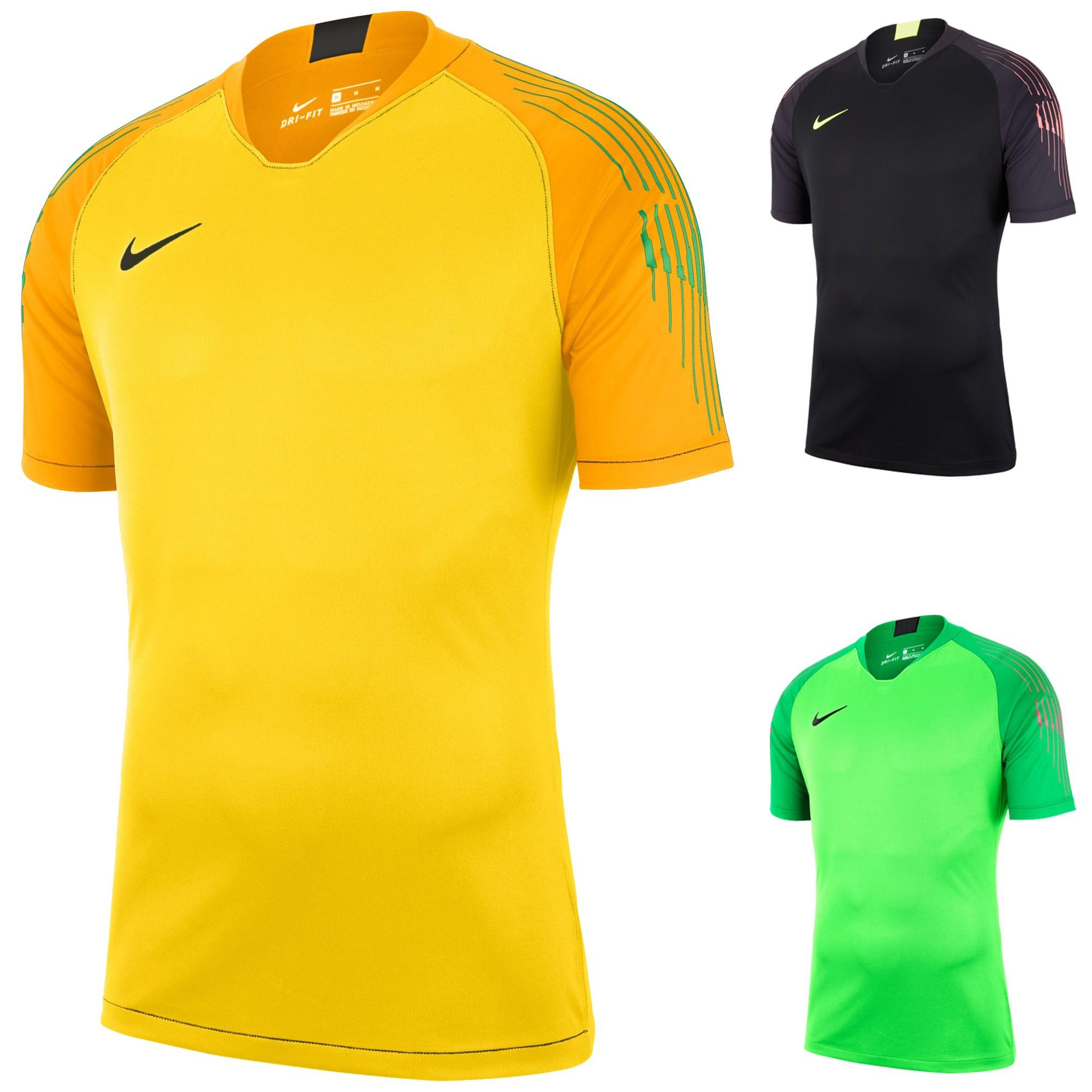 maillot jaune et rouge nike