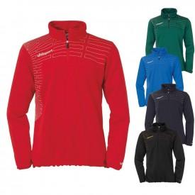 Sweat 1/4 zip Match Femme - Uhlsport 1002090