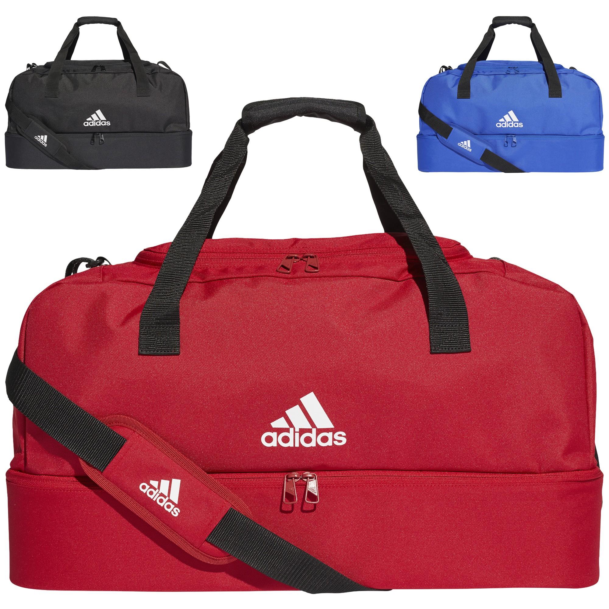 8d87f9baba Sac de sport Adidas Tiro Dufflebag avec compartiment inferieur M ...
