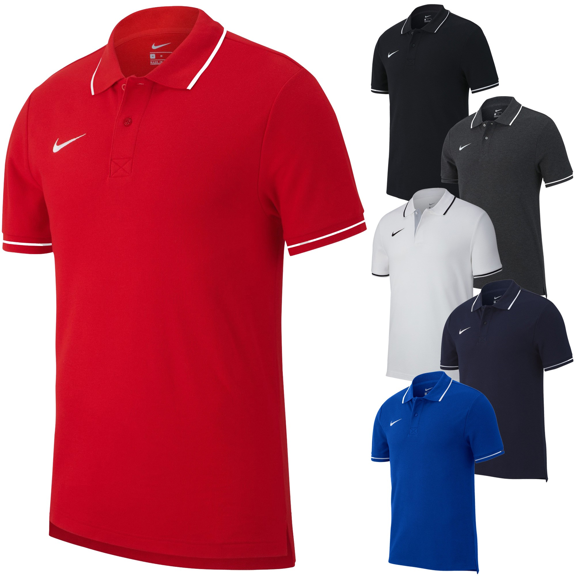 3252fc18 Polo Nike Team Club 19 Manches Courtes | Integral Sport