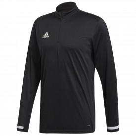 Maillot 1/4 zip longsleeve Team 19 - Adidas DW6852
