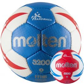 Ballon de handball FFHB HX3200 - Molten MHE-HX3201F
