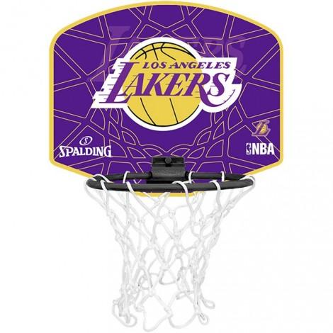 50509cb226766 Panier de basket Miniboard Los Angeles Lakers Spalding | Integral Sport