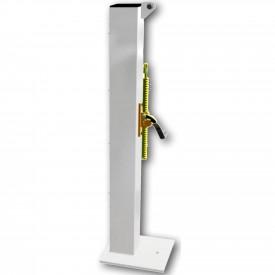Poteaux de Tennis acier carré sur platine - Sporti 012016