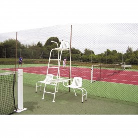 Chaise d'arbitre acier simple - Sporti 012032