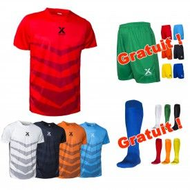 Maillot Star + Short One et Chaussettes offertes Ixome