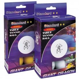 Balles de ping pong Blanches Boîte de 6