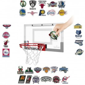 Panneau de basket Slam Jam board avec Sticker équipes NBA - Spalding 300166101