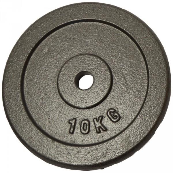 Poids disque en fonte 10 kg Sporti