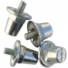 Crampons Cylindriques (Sachet de 100 crampons alu / 16 mm) - Sporti 063282