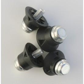 Crampons alu/nylon (Blister de 12 crampons / 8 x 13 mm + 4 x 16 mm) - Sporti 063286