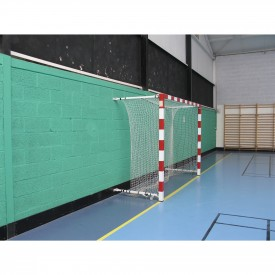 But de Handball compétition Alu rabattable au mur 0.90 à 1.40 m (l'unité) Sporti