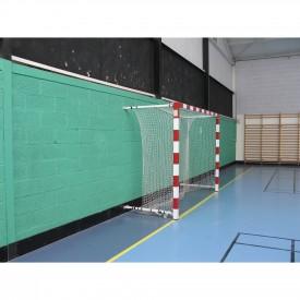 But de Handball compétition Alu rabattable au mur 1.40 à 2.10 m (l'unité) Sporti