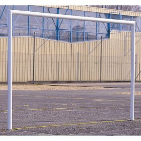 But en acier galvanisé Handball/Football à sceller (l'unité) Sporti