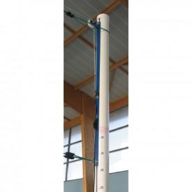 Poteaux de Volley Scolaire en Aluminium (la paire) - Sporti 064039P