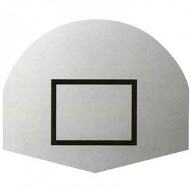 Panneau de Basketball polyester 1/2 lune (l'unité) Sporti