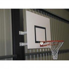 Panier de Basket mural hauteur fixe rectangle (l'unité) Sporti