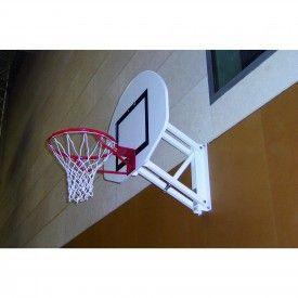 Panier de Basket mural à hauteur réglable demi-lune (l'unité) Sporti
