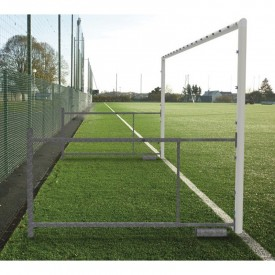Buts de Football à 8 repliables profondeur 2.10 à 3.10 m (la paire) - Sporti 064208
