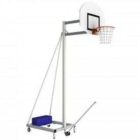 Panier à tête fixe pour Basket hauteur 2.60 m déport 1 m - Sporti 064218