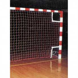 Filet de Handball PE tréssé 3 mm maille 100 simple Noir - Sporti 065051