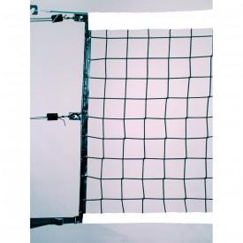 Filet de Volley Haute Compétition 9.5x1 m 4 mm simple - Sporti 065092