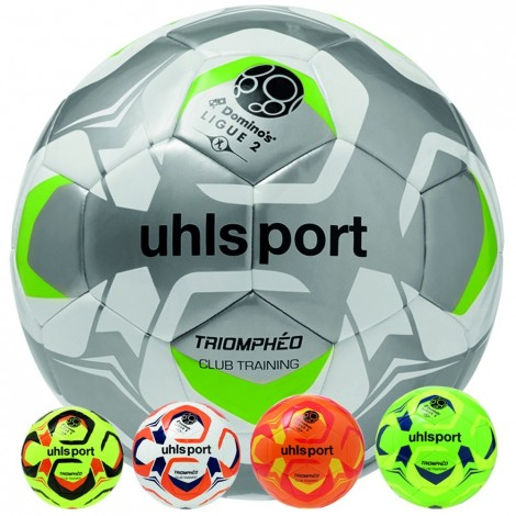Lot de 10 ballons Ligue 2 Triomphéo Club Training