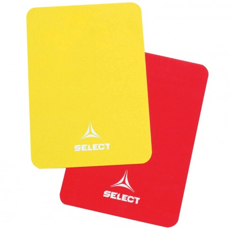 Cartons Arbitre Rouge et Jaune (6 set)