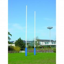 Buts de Rugby en Acier galvanisé (la paire) 14.50 m - Sporti 064207
