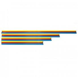 Jalon plastique avec bouchons - Sporti 063022