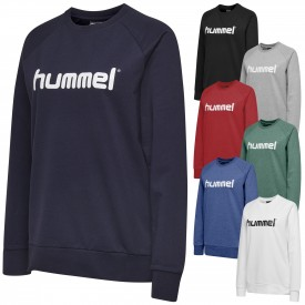 Sweat cotton Logo HMLGO Femme - Hummel 203519