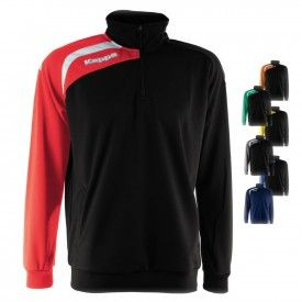 Sweat Contrasto 1/2 Zip Arqua Training Kappa