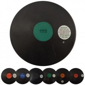 Disque à lancer de 0,6kg à 2kg - Sporti 021011
