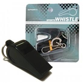 Sifflet plastique + cordon - Sporti 063193