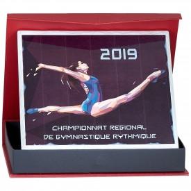 Plaque céramique 25 x 20 cm - France Sport F_153-02_SR3