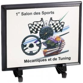 Plaque bois 25 x 20 cm - France Sport F_154-62_SR3