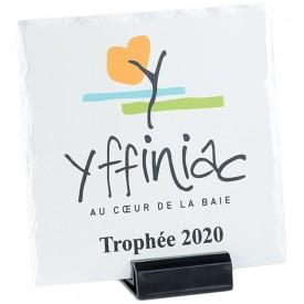Plaque céramique 11 cm - France Sport F_154-31_SR1
