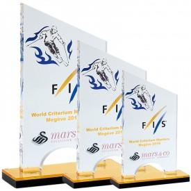 Trophée Acryglass impression couleur - France Sport F_158-6