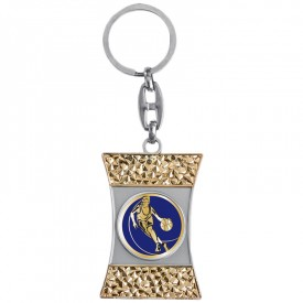 Porte-clés médaille personnalisable - France Sport F_192-22L