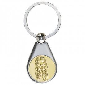 Porte-clés médaille personnalisable - France Sport F_192-27L